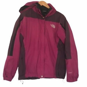 The North Face hyvent 3in1 jacket L